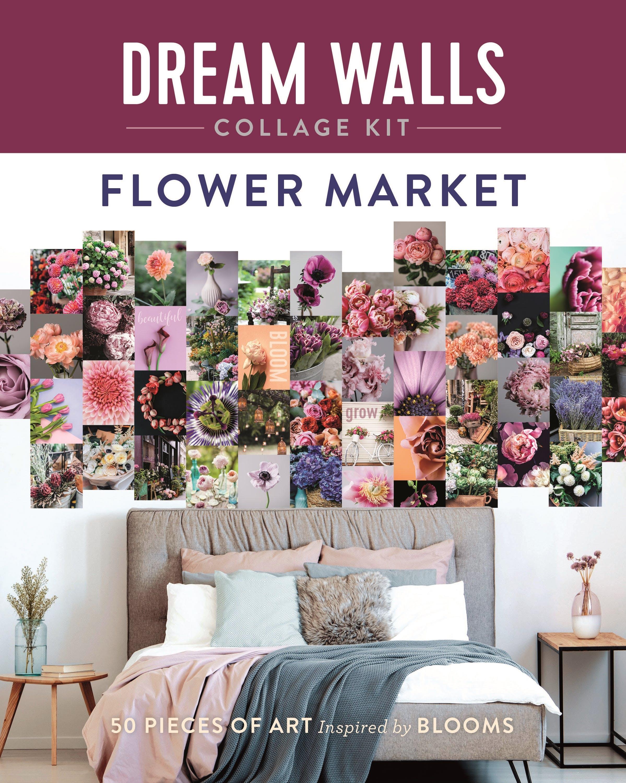 Image of Dream Walls Collage Kit: Flower Market