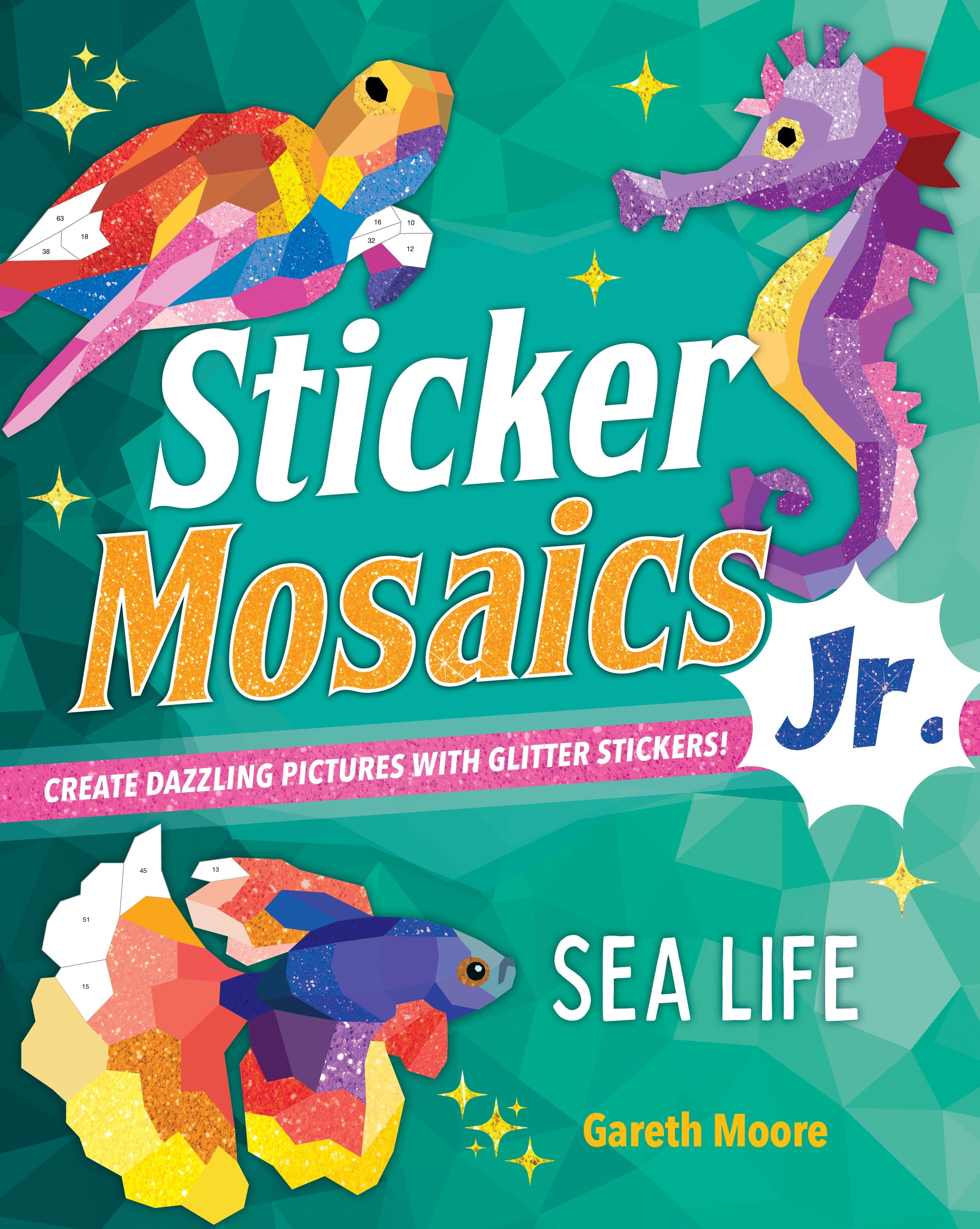 Image of Sticker Mosaics Jr.: Sea Life