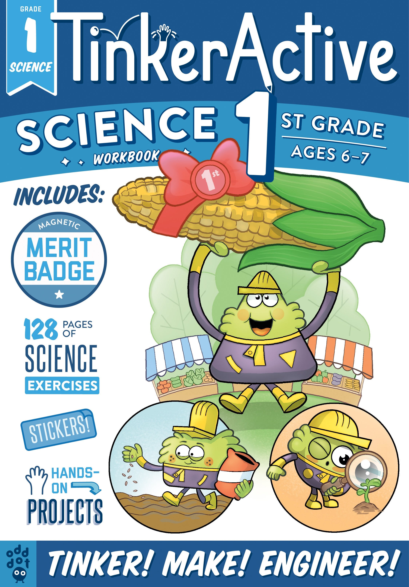 Image of TinkerActive Workbooks: 1st Grade Science