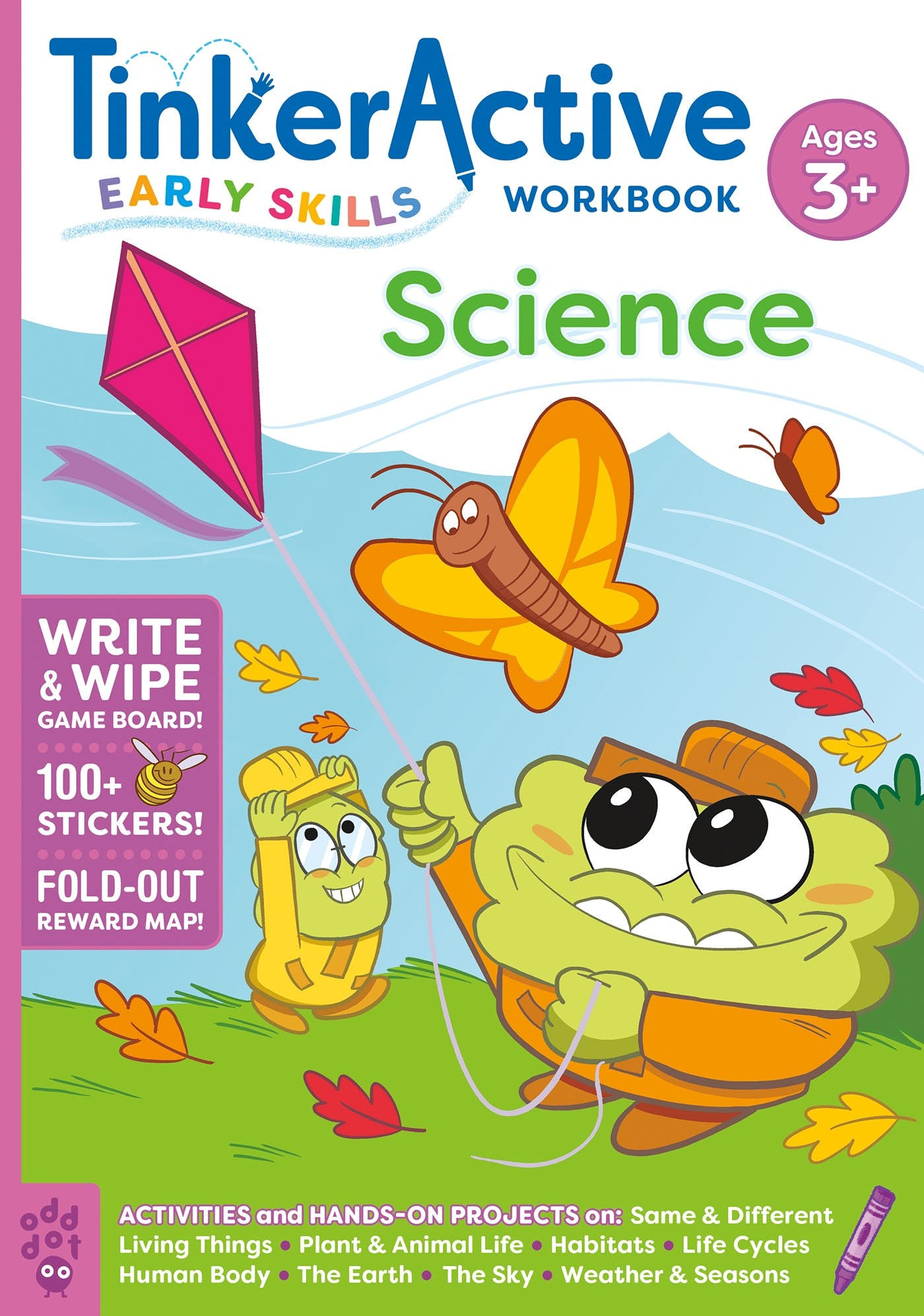 Image of TinkerActive Early Skills Science Workbook Ages 3+