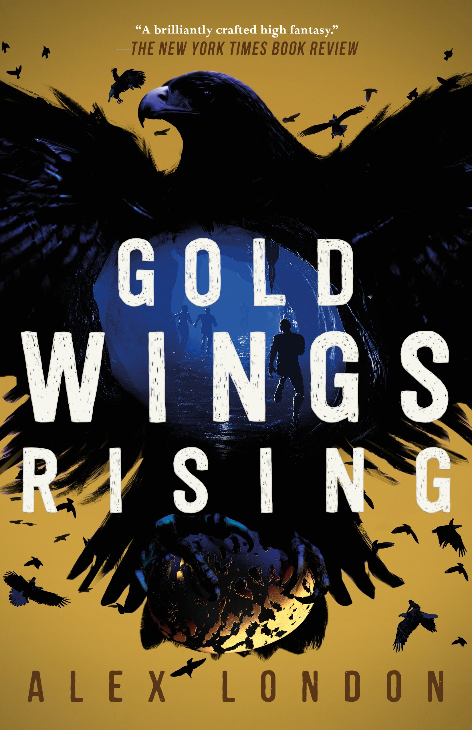 Image of Gold Wings Rising