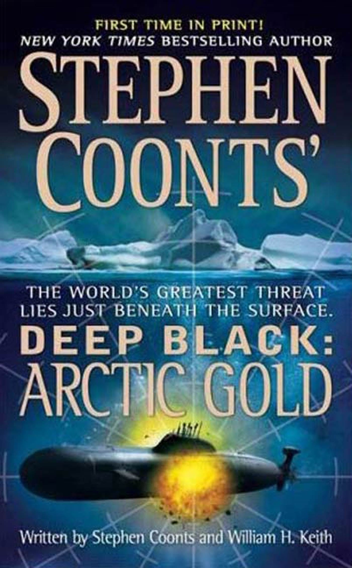 Image of Stephen Coonts' Deep Black: Arctic Gold