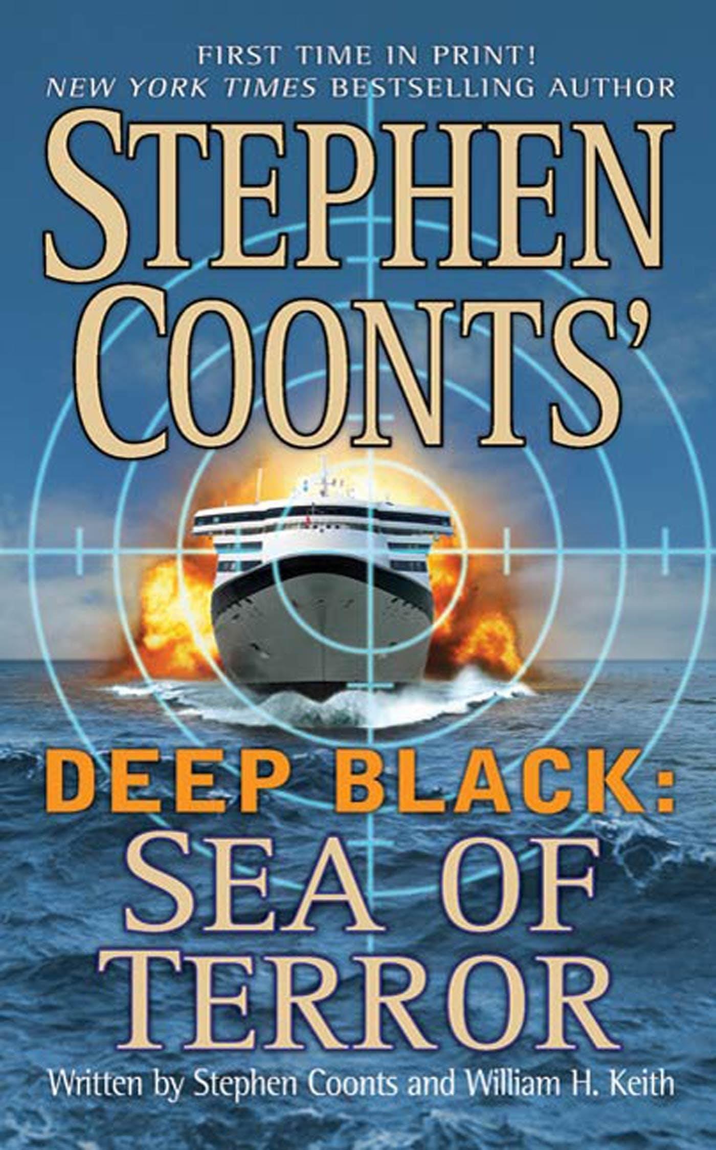 Image of Stephen Coonts' Deep Black: Sea of Terror