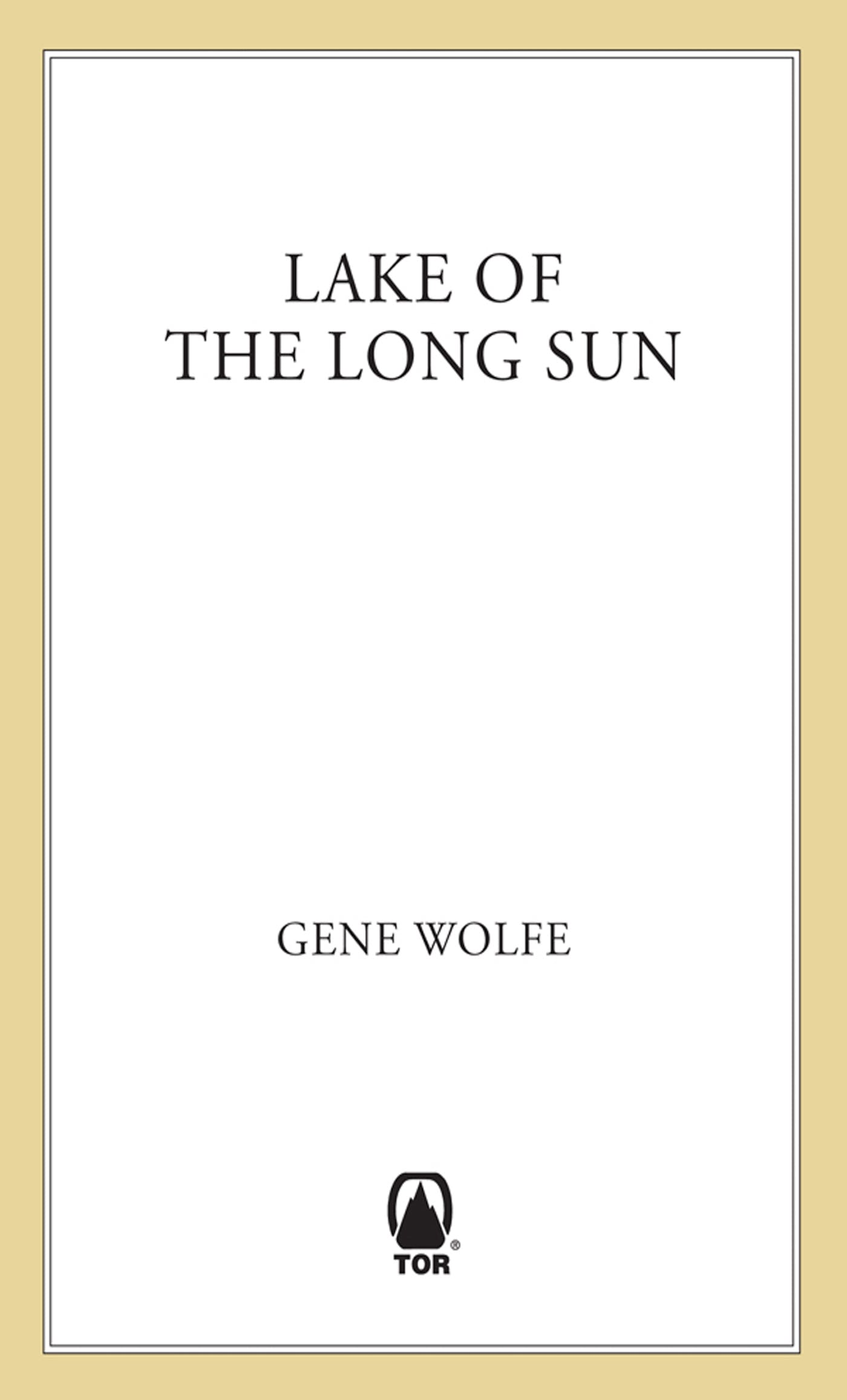Image of Lake of the Long Sun