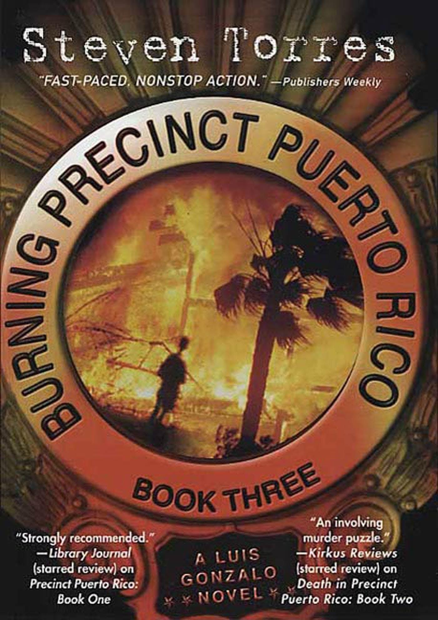 Image of Burning Precinct Puerto Rico: Book Three