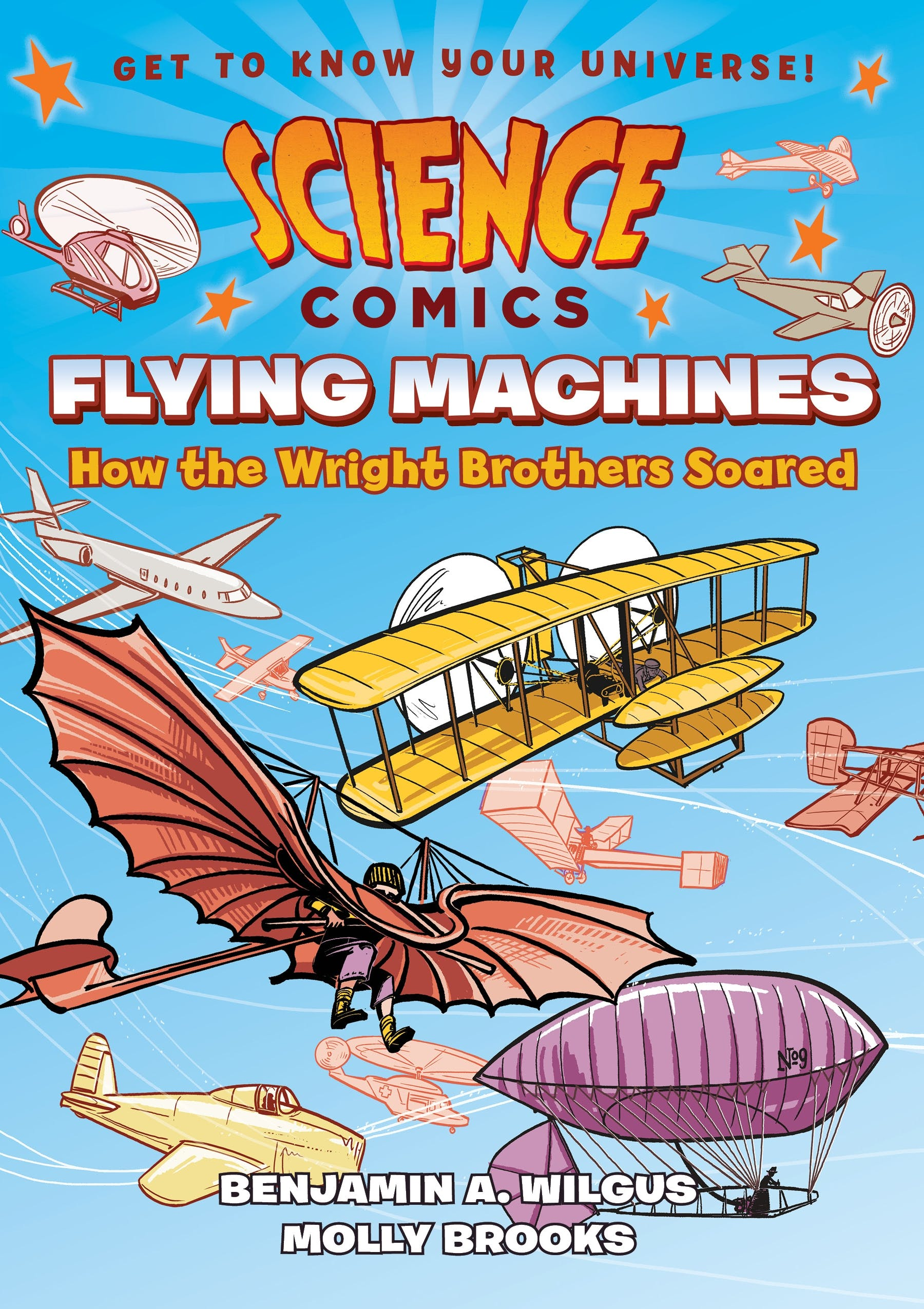 Image of Science Comics: Flying Machines