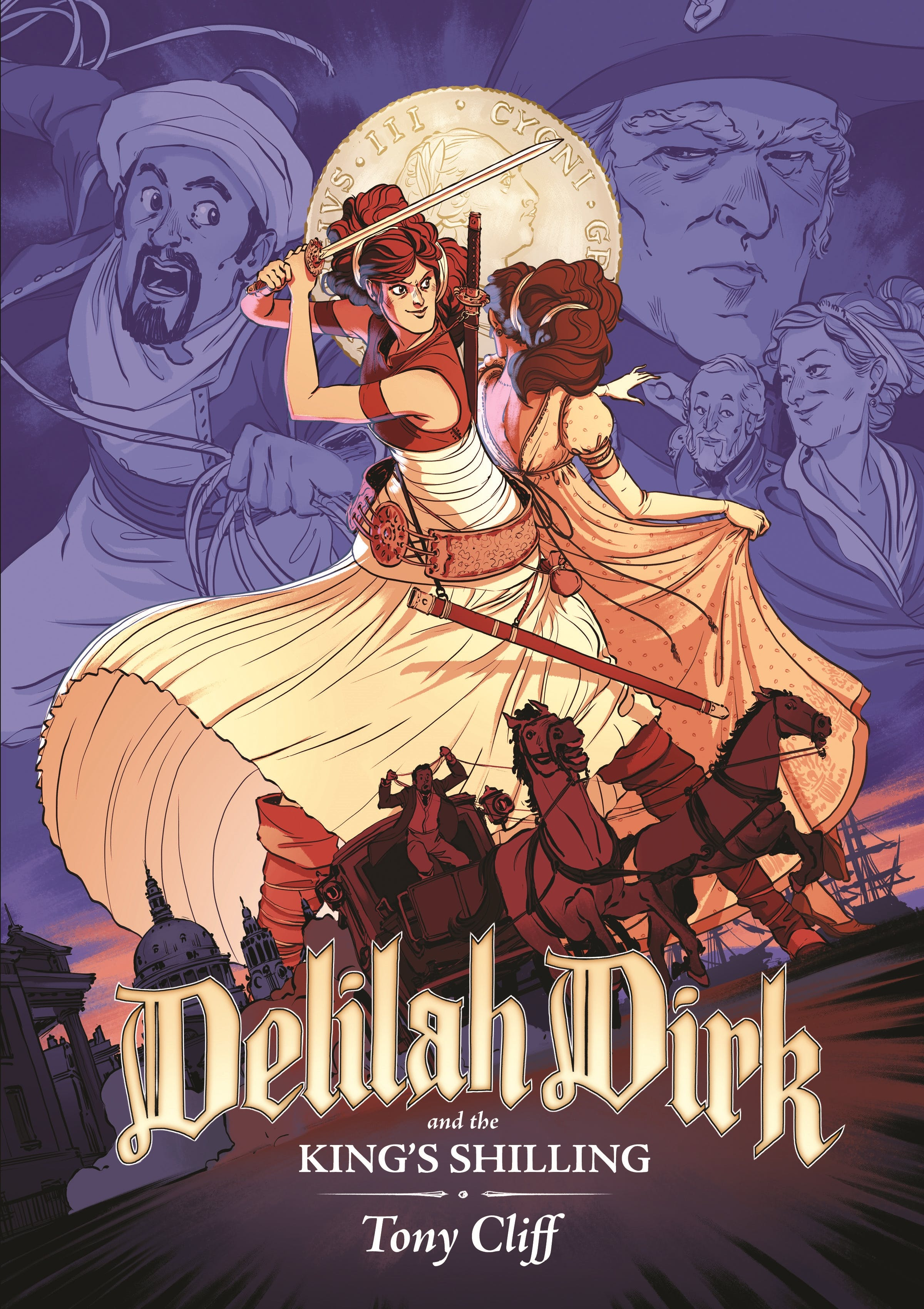 Image of Delilah Dirk and the King's Shilling