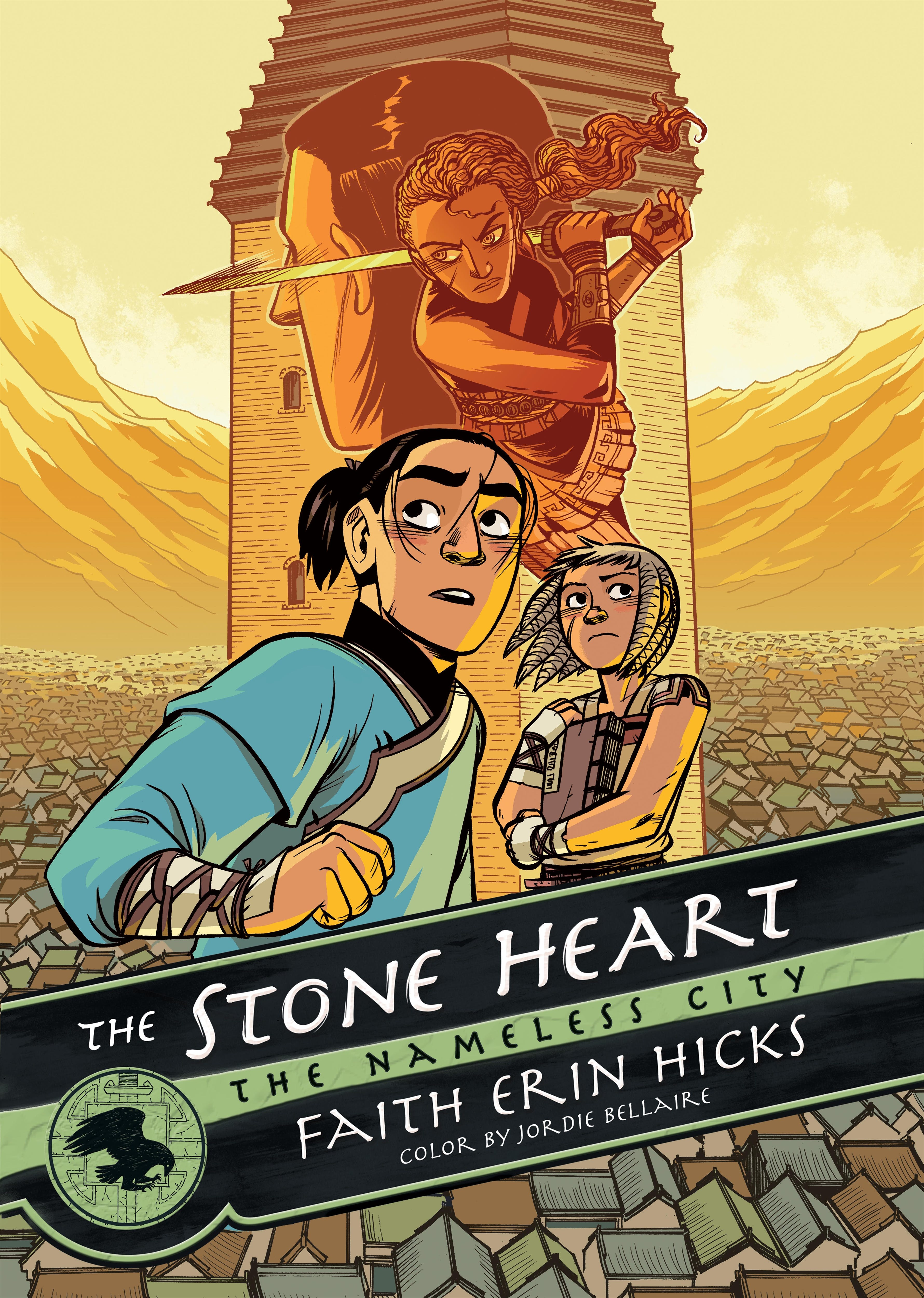 Image of The Nameless City: The Stone Heart