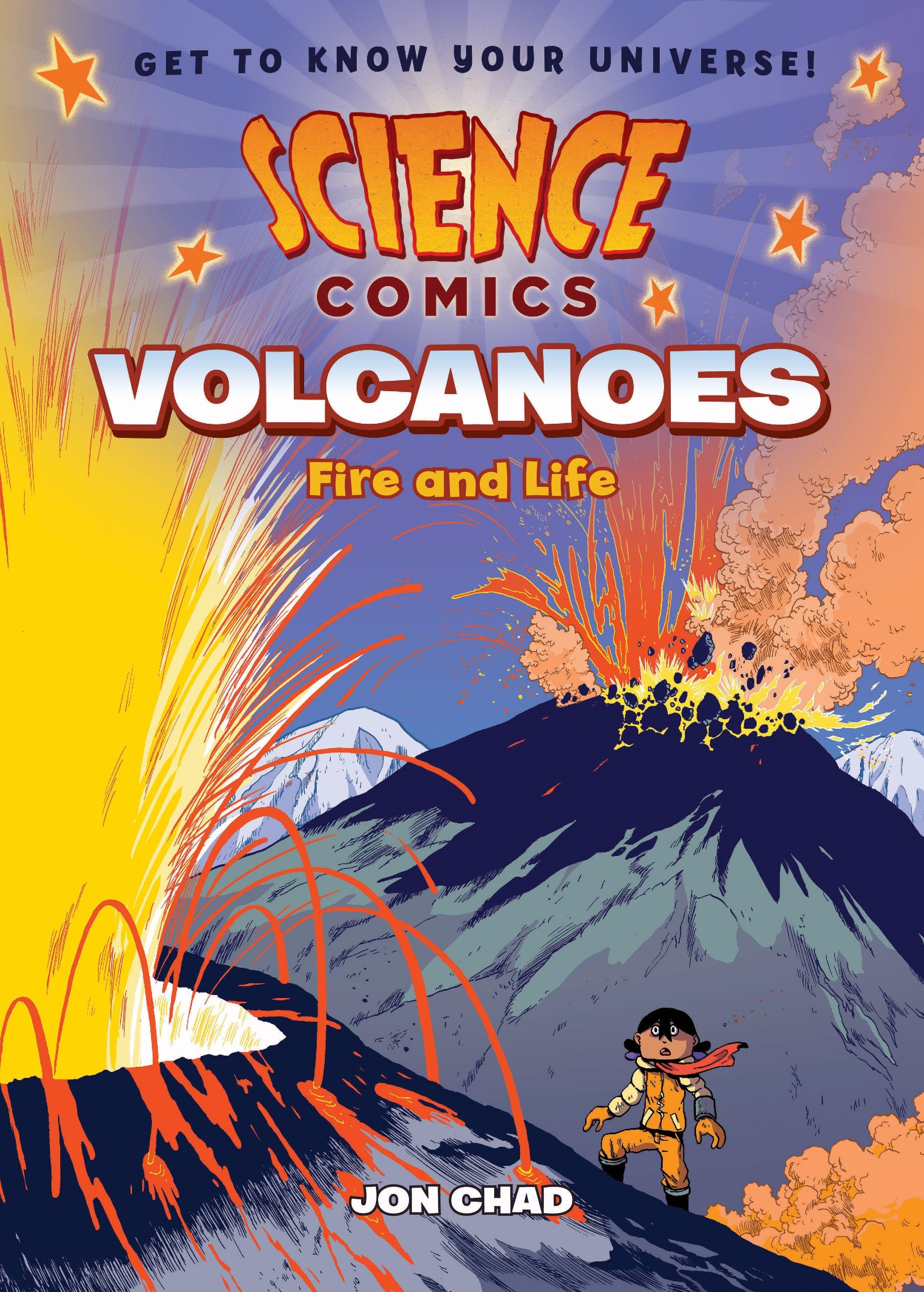 Image of Science Comics: Volcanoes