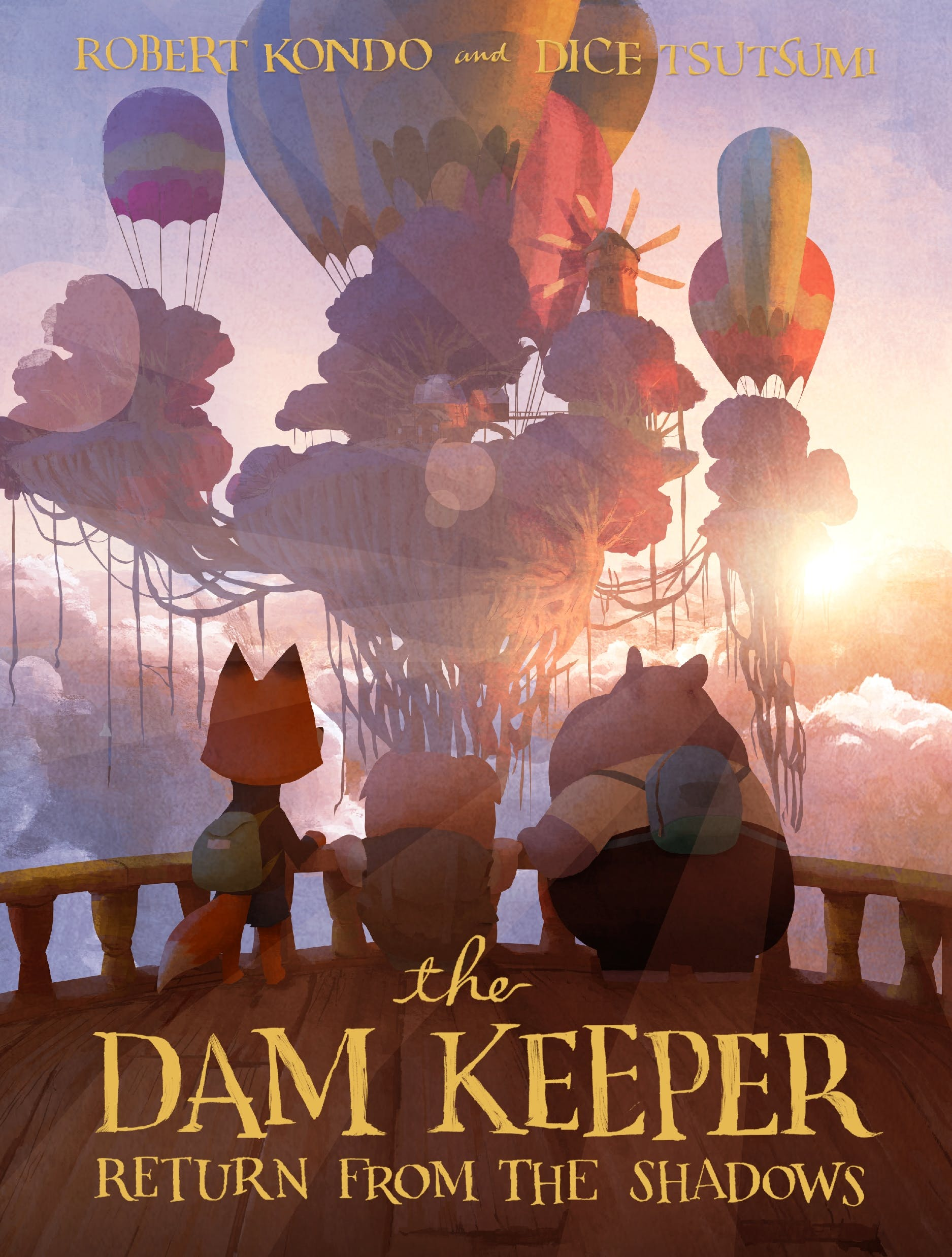 Image of The Dam Keeper, Book 3